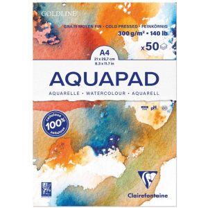 Bloc Goldline Aquapad format a4