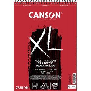 Bloc canson XL - Huile et acrylique
