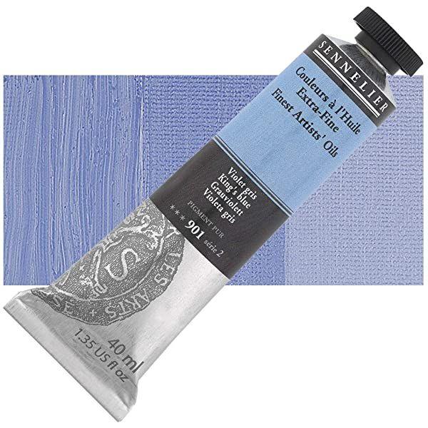 Huile extra-fine Sennelier violet gris