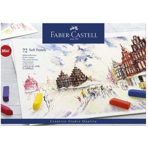 Set de 72 demi-pastels secs - Faber-castell