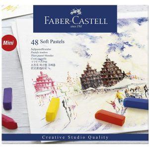 Set de 48 demi-pastels secs - Faber-castell