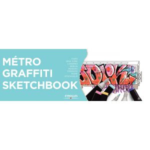 Métro graffiti sketchbook - Livre