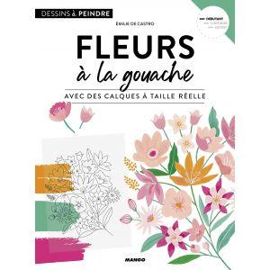 Fleurs à la gouache - Livre