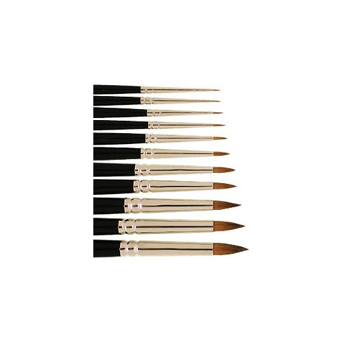 Pinceaux Martre Kolinsky pure - série 7733 - Léonard