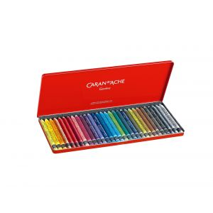 Boîte de craie aquarellable Neocolor II - Caran d'Ache