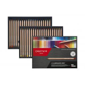 Boîte de 40 crayons Luminance 6901 - Caran d'Ache