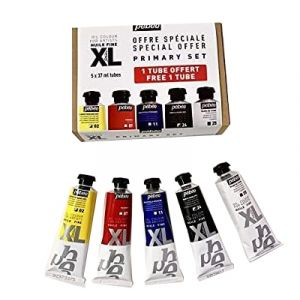 Pack d'huile XL couleurs primaires - 5x37ml - Pébéo