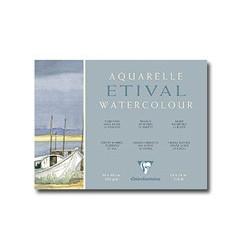 Papier aquarelle Etival - grain torchon - Clairefontaine