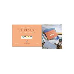 Papier Aquarelle Fontaine - grain fin 300g - Clairefontaine