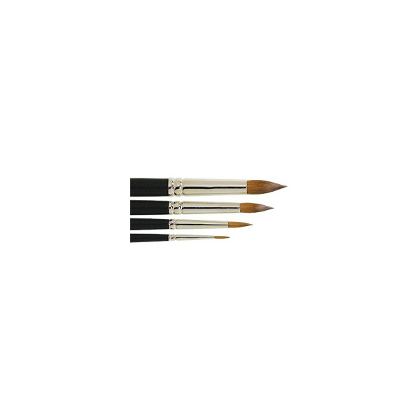 Pinceaux Martre Kolinsky pure - série 159 - Léonard