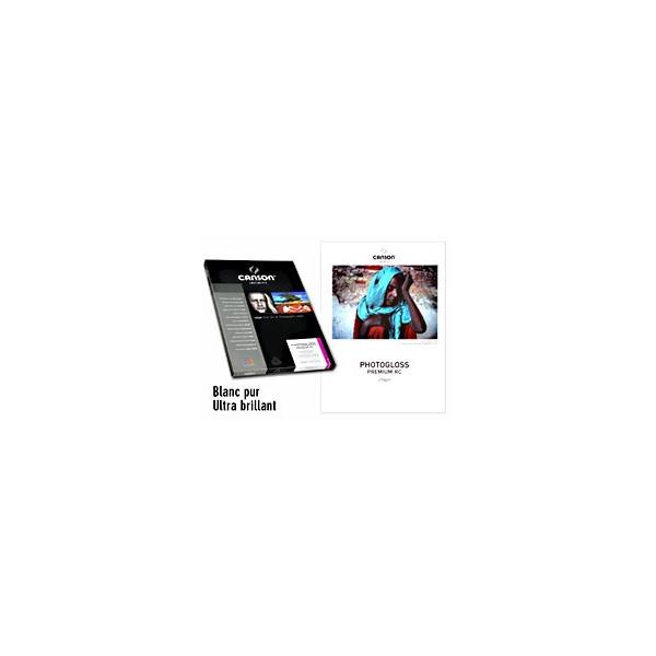 Papier photo PhotoGloss 270 gr Premium RC  - 270 gr - Canson