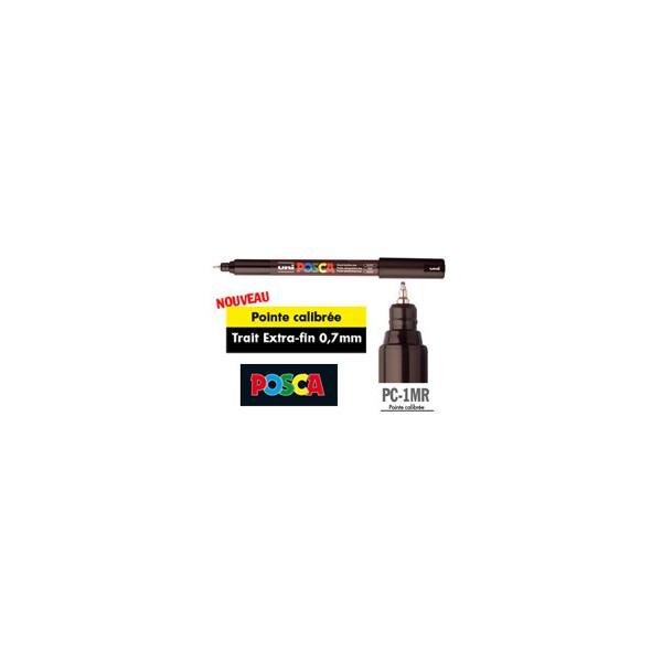 Marqueur POSCA PC-1MR, pointe extra fine 0,7 mm