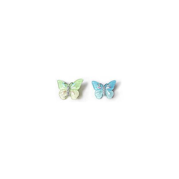 Pendentif plastique - Papillon