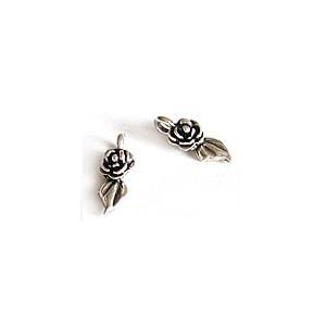 Pendentif, breloque métallique - Rose