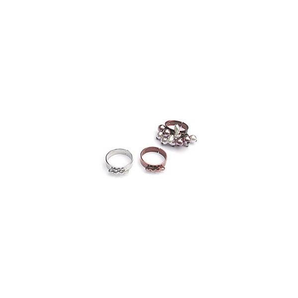 Support de bague avec anneau ajustable à la taille de votre doigt