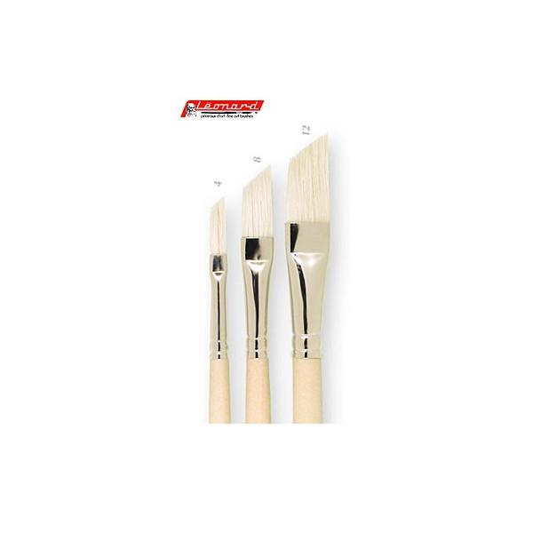 Brosse pour fileur soies beau-blanc - série 1005PS - Léonard