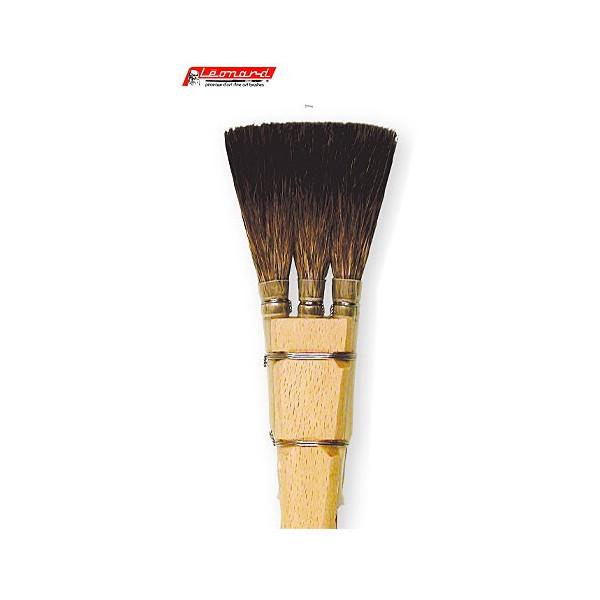 Pinceau à chiqueter petit-gris pur - série 3644RD - Léonard