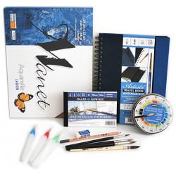 Kit Aquarelle Paysage de Mer