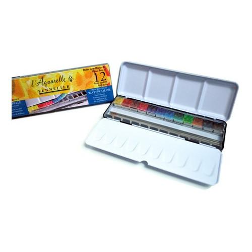 Boîte Aquarelle extra fine Sennelier - aquarelle au miel