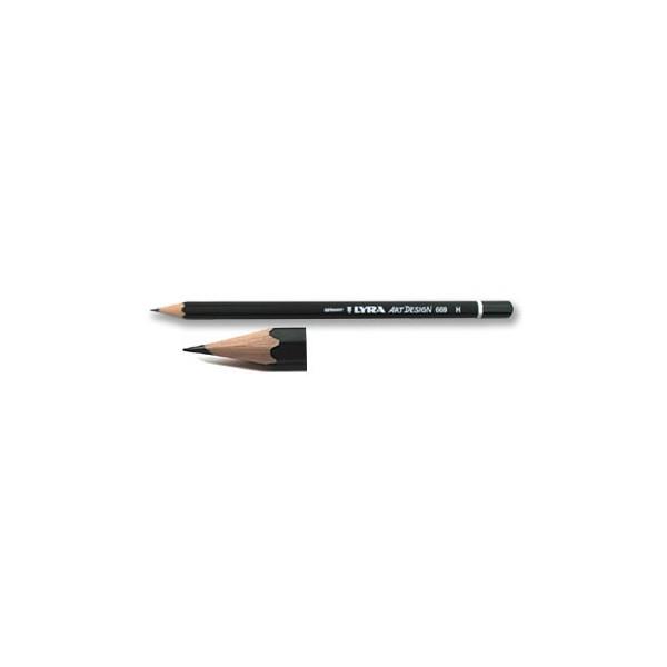 Crayon graphite Art Design - Lyra