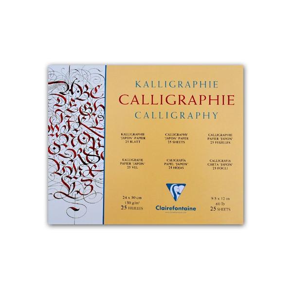 Bloc calligraphie - 130gr - Clairefontaine