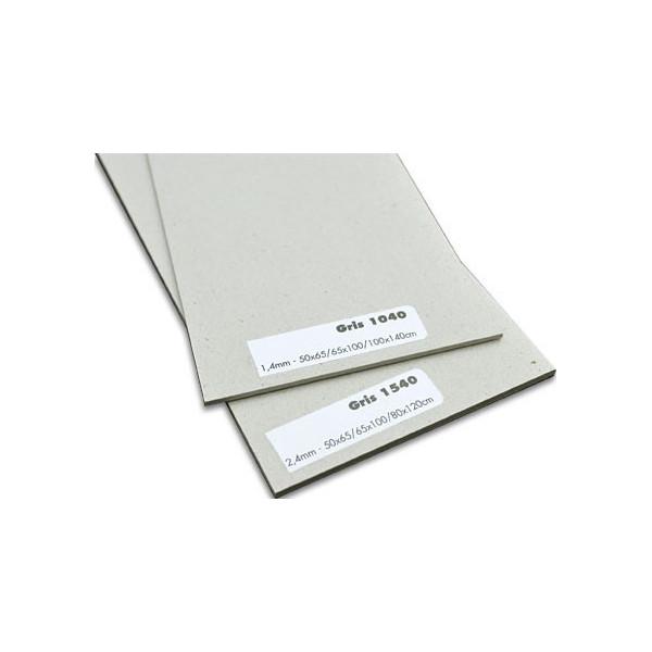 Carton gris brut