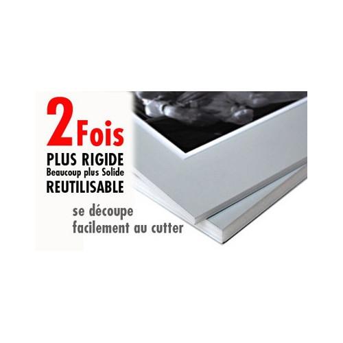 Carton mousse / carton plume ALU