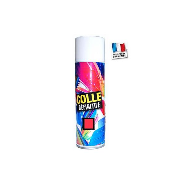 Colle forte en spray- Montage définitif