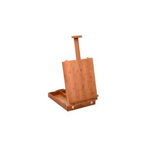 Boite chevalet de table en bambou de manet - Chevalet de table peinture ...