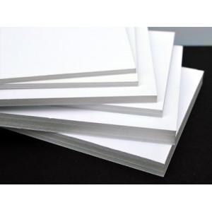 Carton mousse / carton plume - Blanc