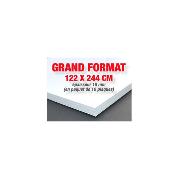 Carton mousse / carton plume très grand format