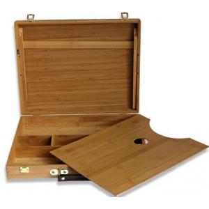 Coffret bois vide en bambou - Manet