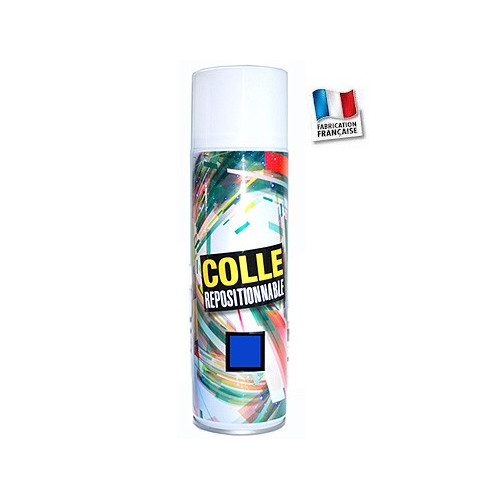Colle Repositionnable en spray- Montages successifs