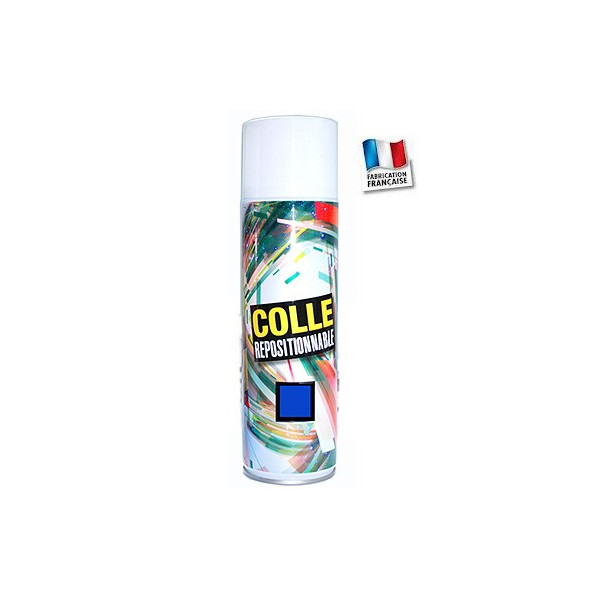 Colle Repositionnable en spray- Montages successifs