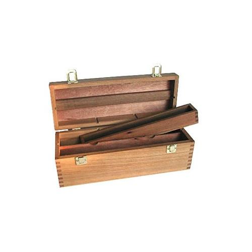 Coffret technique vide en bois