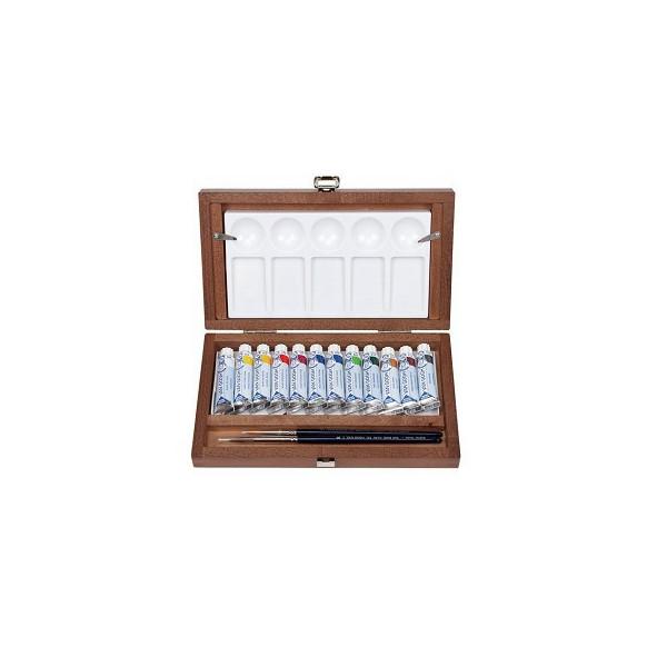 Coffret bois Aquarelle Van Gogh en tubes