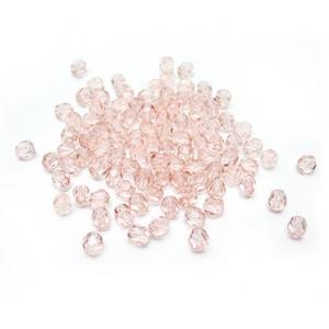 Facettes ou perles de Bohême - Rose