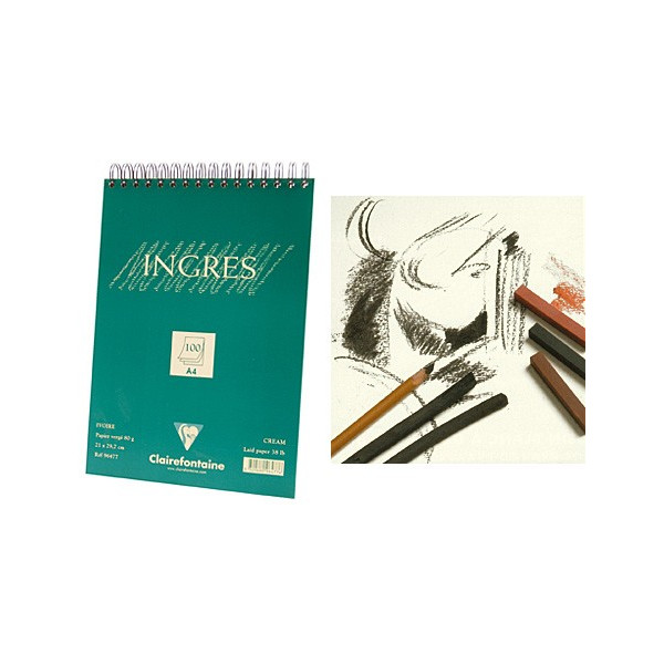 Papier Ingres - 80gr - Clairefontaine