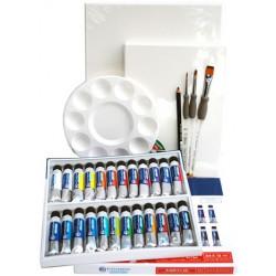 Kit Peinture Acrylique 24 couleurs