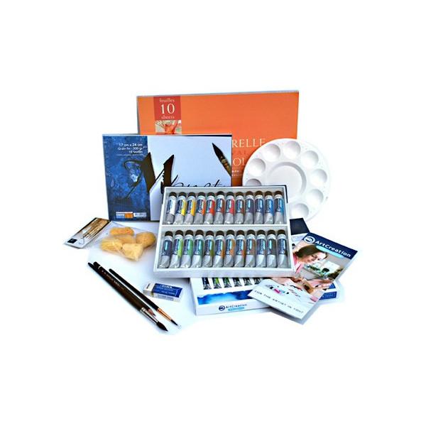 Kit peinture Aquarelle pour débutant