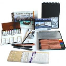 Kit Vacances Dessin Aquarelle en tubes