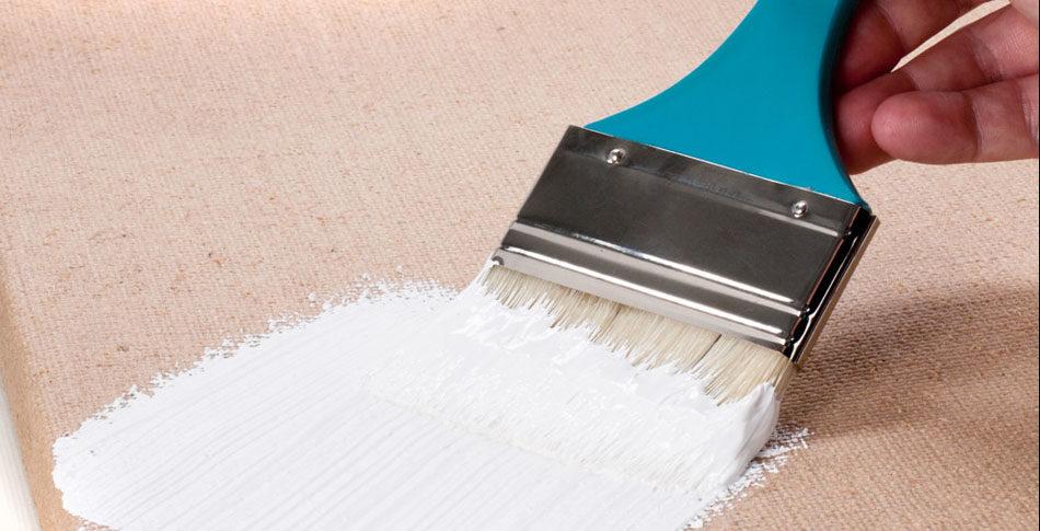 Préparer une toile pour peinture à l'huile